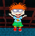 Animation Art:Production Cel, Rugrats Chuckie Finster Production Cel (Nickelodeon, 1991)....