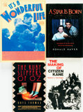 Books:Non-fiction, [Film & Cinema]. Group of Four INSCRIBED Books Related to the Makings of Classic Films. Various publishers and dates.... (Total: 4 Items)