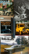 Books:Non-fiction, [Automobiles]. Group of Seven Books Related to Rolls-Royce Vehicles. Various publishers and dates.... (Total: 7 Items)