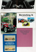 Books:Non-fiction, [Automobiles]. Group of Five Books Related to Luxury Cars. Various publishers and dates.... (Total: 5 Items)