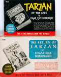 Books:Science Fiction & Fantasy, [Featured Lot]. [Edgar Rice Burroughs]. Pair of Armed Services Edition Tarzan Books. Tarzana: Edgar Rice Burroug... (Total: 2 Items)