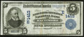National Bank Notes:Maryland, Baltimore, MD - $5 1902 Date Back Fr. 595 The Merchants-MechanicsNB Ch. # (E)1413. ...