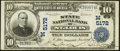 National Bank Notes:Missouri, Saint Louis, MO - $10 1902 Plain Back Fr. 632 The State NB Ch. #(M)5172. ...