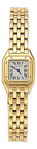 Estate Jewelry:Watches, Cartier Lady's Gold Mini Panthere Watch. ...