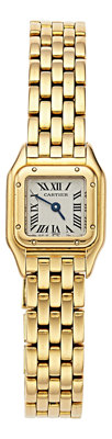 Cartier Lady's Gold Mini Panthere Watch