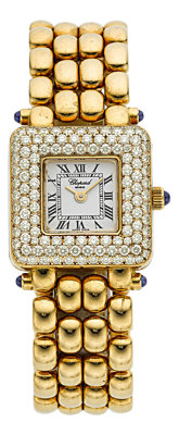 Chopard Lady's Diamond, Gold Watch