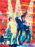 Fine Art - Work on Paper:Print, LeRoy Neiman (American, 1921-2012). Frank and Liza.Silkscreen in colors on paper. 31-1/4 x 25-1/2 inches (79.4 x 64.8c...