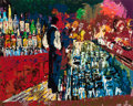 Fine Art - Work on Paper:Print, LeRoy Neiman (American, 1921-2012). Bar Scene. Silkscreen incolors on paper. 29 x 36 inches (73.7 x 91.4 cm) (image). E...