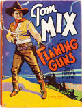 Big Little Book:Western, Big Little Book #22 Flaming Guns (Tom Mix) (Whitman, 1935) Condition: VG....