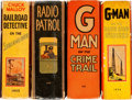 Big Little Book:Miscellaneous, Big Little Book Detective Group of 4 (Whitman, 1935-38).... (Total:4 Items)