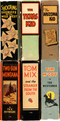 Big Little Book:Miscellaneous, Big Little Book Western Group of 6 (Whitman, 1936-37).... (Total: 6Items)