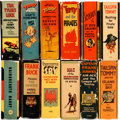 Big Little Book:Miscellaneous, Big Little Book Adventure Group of 12 (Whitman, 1935-39)....(Total: 12 Items)