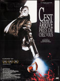 """Movie Posters:Foreign, Man Bites Dog (Acteurs Auteurs Associes, 1992). French Grande (47"""" X 63""""). Foreign.. ..."""