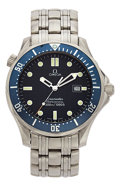 Estate Jewelry:Watches, Omega Gentleman's Stainless Steel Seamaster Professional Watch. ...