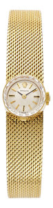 "Estate Jewelry:Watches, Rolex Lady's Gold ""Orchid"" Watch. ..."
