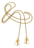 Estate Jewelry:Necklaces, Diamond, Gold Necklace, Carrera y Carrera. ...
