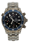 Estate Jewelry:Watches, Omega Gentleman's Titanium Seamaster Professional Chronograph Watch. ...