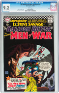 Silver Age (1956-1969):War, All-American Men of War #114 Boston pedigree (DC, 1966) CGC NM- 9.2 White pages....