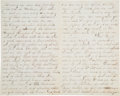 Military & Patriotic:Civil War, Battle of the Crater Letter from Union Cavalryman....
