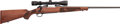 Long Guns:Bolt Action, Winchester Model 70 Lightweight Bolt Action Rifle with TelescopicSight....