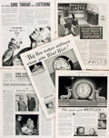 Books:Periodicals, Five Issues of The Saturday Evening Post. December 10, 1932- April 24, 1937. ...