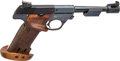 Handguns:Semiautomatic Pistol, High Standard Model 102 Olympic Citation Semi-Automatic Pistol AKA Space Gun....