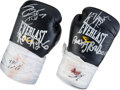 "Movie/TV Memorabilia:Costumes, A Pair of Signed Gloves from ""Grudge Match.""..."