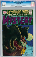 Bronze Age (1970-1979):Horror, House of Mystery #175 Boston pedigree (DC, 1968) CGC NM- 9.2 Whitepages....
