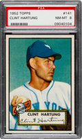 Baseball Cards:Singles (1950-1959), 1952 Topps Clint Hartung #141 PSA NM-MT 8....