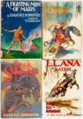 Books:Science Fiction & Fantasy, [Edgar Rice Burroughs]. Group of Four Books, Including Two FirstEditions. Various publishers, [1937, 1948].. ... (Total: 4 Items)