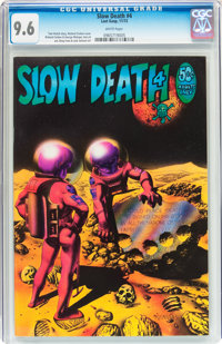 Slow Death #4 (Last Gasp, 1972) CGC NM+ 9.6 White pages