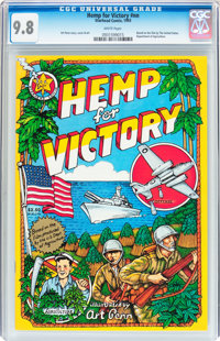 Hemp for Victory #nn (Starhead Comix, 1993) CGC NM/MT 9.8 White pages
