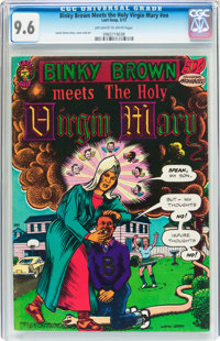 Binky Brown Meets the Holy Virgin Mary #nn (Last Gasp, 1972) CGC NM+ 9.6 Off-white to white pages