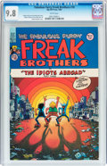 Modern Age (1980-Present):Alternative/Underground, The Fabulous Furry Freak Brothers #10 (Rip Off Press, 1987) CGCNM/MT 9.8 White pages....