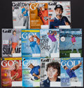 Golf Collectibles:Autographs, Golf Greats Signed Magazines Lot of 11....