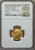 Ancients:Roman Imperial, Ancients: Valens (AD 364-378). AV solidus (3.87 gm)....