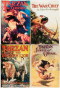 Books:Science Fiction & Fantasy, [Edgar Rice Burroughs]. Group of Four Later Editions. Various publishers, [circa 1925- 1930].. ... (Total: 4 Items)