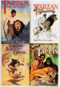 Books:Science Fiction & Fantasy, [Edgar Rice Burroughs]. Group of Four Tarzan Books, Including Three First Editions. Chicago: A.C. McClurg, 1916-... (Total: 4 Items)