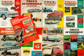 Books:Periodicals, [Periodicals]. Group of Nine Issues of True's AutomobileYearbook. Fawcett Publications, [various dates]....