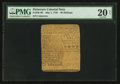 Colonial Notes:Delaware, Delaware May 1, 1758 20s PMG Very Fine 20 Net.. ...