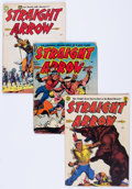 Golden Age (1938-1955):Western, Straight Arrow #1-55 Complete Series Group (Magazine Enterprises,1950-56) Condition: Average VG.... (Total: 55 Comic Books)