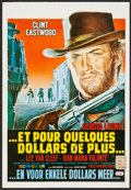 "Movie Posters:Western, For a Few Dollars More (United Artists, R-1970s). Trimmed BelgianPoster (14"" X 20.25""). Western.. ..."