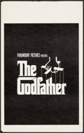 "Movie Posters:Crime, The Godfather (Paramount, 1972). Window Card (14"" X 22""). Crime....."