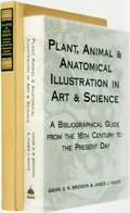 Books:Reference & Bibliography, [Reference & Bibliography]. [Natural History Illustrations].Pair of Titles. Various publishers and dates.... (Total: 2 Items)
