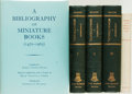 Books:Reference & Bibliography, [Reference & Bibliography]. [Miniature Books]. Group of FiveBooks. Various publishers and dates.... (Total: 5 Items)