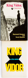 Books:Biography & Memoir, [King Vidor, subject]. Pair of Biographies. Various publishers and dates.... (Total: 2 Items)