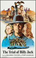 """Movie Posters:Action, The Trial of Billy Jack & Others Lot (Warner Brothers, 1974).One Sheets (4) (24.75"""" X 39.5"""" & 27"""" X 41"""") No NSS Style.Acti... (Total: 4 Items)"""