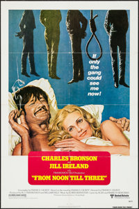 """From Noon Till Three & Others Lot (United Artists, 1976). One Sheets (3) (27"""" X 41""""). Western. ... (Total:..."""