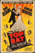 """Movie Posters:Musical, Top Hat (RKO, R-1953). One Sheet (27"""" X 41""""). Musical.. ..."""