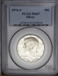 Kennedy Half Dollars: , 1976-S 50C Silver MS67 PCGS. PCGS Population (1193/186). NGCCensus: (110/8). Mintage: 11,000,000. Numismedia Wsl. Price: $...
